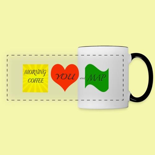 Coffee You Map Ceramic Mug - Panoramic Mug