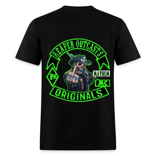 Reaper Outcasts MC Crew T-Shirt - Men's T-Shirt