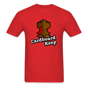 Cardboard Keep, Light (Mens) - Men's T-Shirt