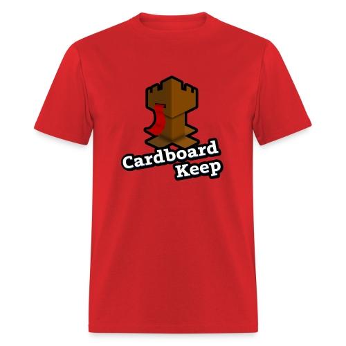 Cardboard Keep, Light (Mens) - Men's T-Shirt