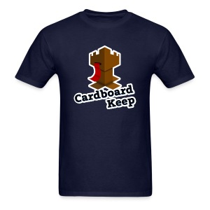 Cardboard Keep, Dark (Mens) - Men's T-Shirt