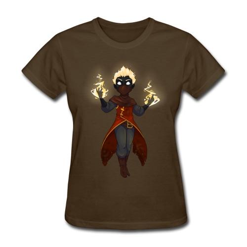 Bitt the Firebrand (Ladies) - Women's T-Shirt