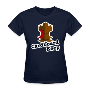 Cardboard Keep, Dark (Ladies) - Women's T-Shirt