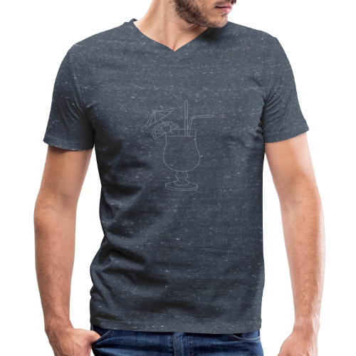 Cocktail - Men's V-Neck T-Shirt by Canvas