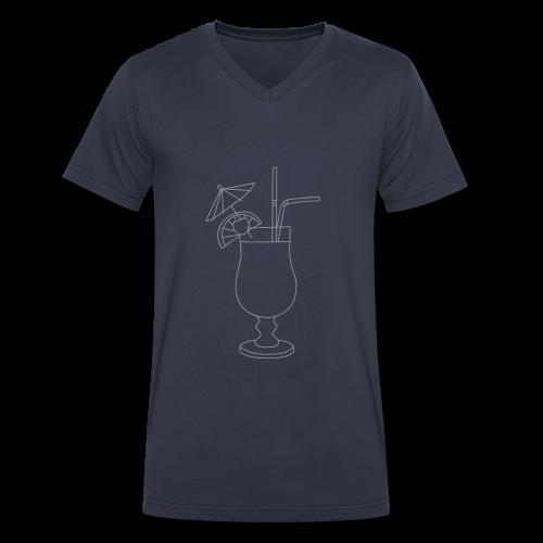 Cocktail - Men's V-Neck T-Shirt by Canvas