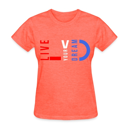 LYD red white & blue Women's Standard Tee - Women's T-Shirt