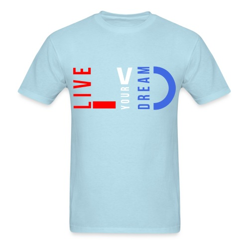 LYD red white & blue Standard Tee - Men's T-Shirt