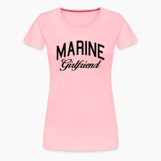 marine girlfriend Women's T-Shirts
