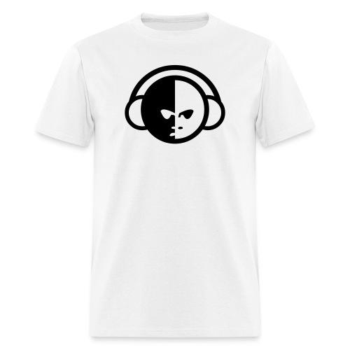 Ying Yang Headphones - Men's T-Shirt