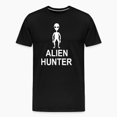 Alien Hunter UFO Space Universe T-Shirts