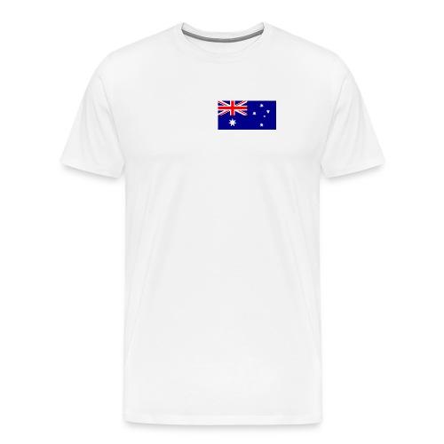 Australia Flag Shirt - Men's Premium T-Shirt