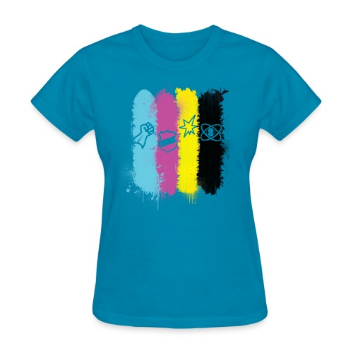 HeroClix Paint Drip - Women's T-Shirt
