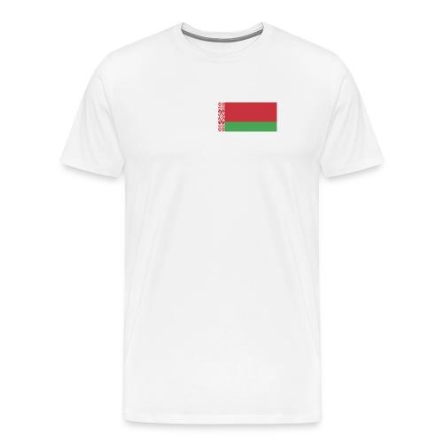 Belarus Flag Shirt - Men's Premium T-Shirt