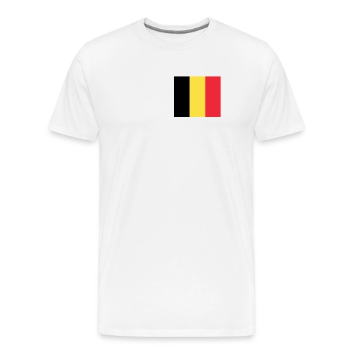 Belgium Flag Shirt - Men's Premium T-Shirt
