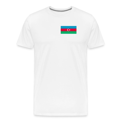 Azerbaijan Flag Shirt - Men's Premium T-Shirt