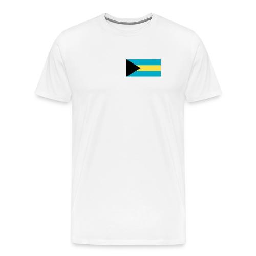 Bahamas Flag Shirt - Men's Premium T-Shirt