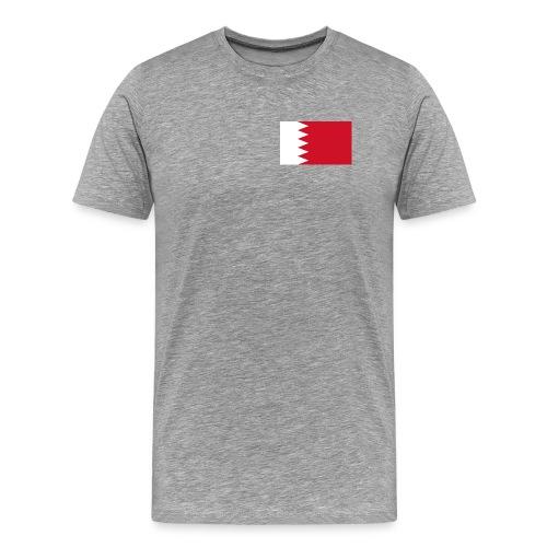 Bahrain Flag Shirt - Men's Premium T-Shirt