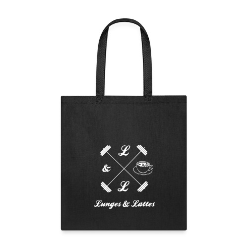 Lunges & Lattes Tote Bag - Tote Bag
