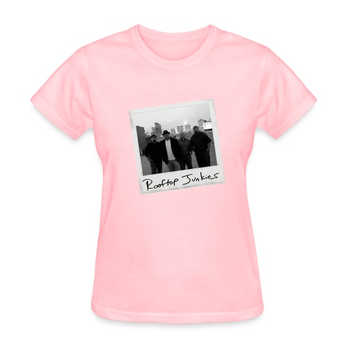 Rooftop Junkies Polaroid T-Shirt (Women) - Women's T-Shirt
