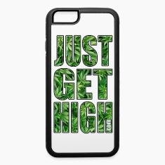 JUST GET HIGH: CANNABIS LEAF FIELD Phone & Tablet Cases