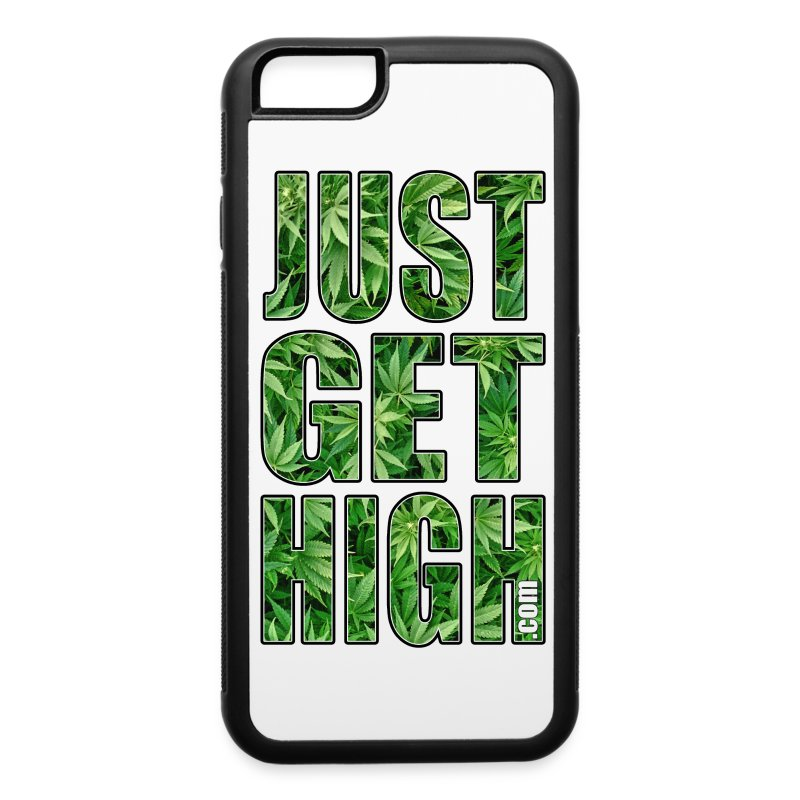 Just Get High Phone Case - iPhone 6/6s Rubber Case