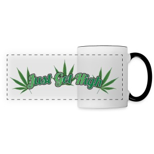 Just Get High Coffee Mug - Panoramic Mug