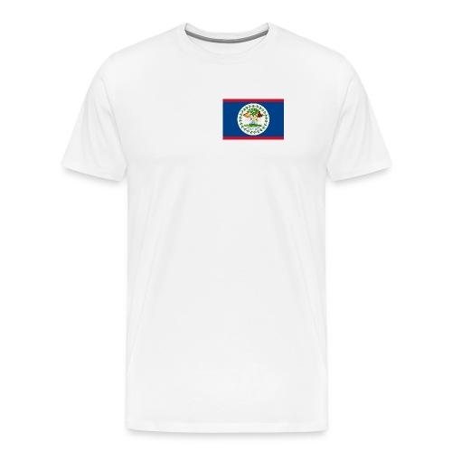 Belize Flag Shirt - Men's Premium T-Shirt