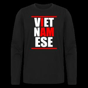 I AM VIETNAMESE Crew-neck Mens - Men's Long Sleeve T-Shirt by Next Level