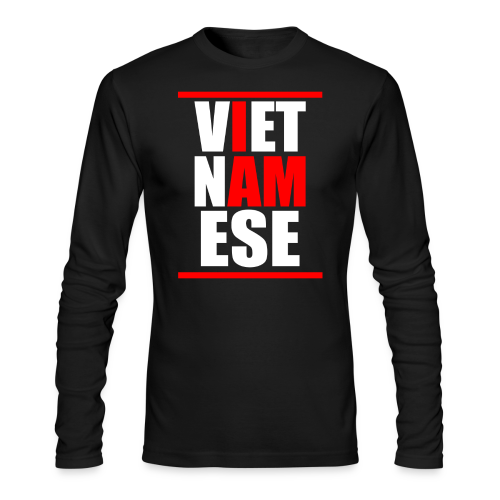 I AM VIETNAMESE Crew-neck Mens - Men's Long Sleeve T-Shirt by Next Level