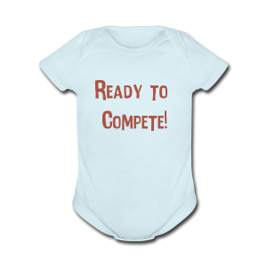 Kids Compete Baby   - Short Sleeve Baby Bodysuit