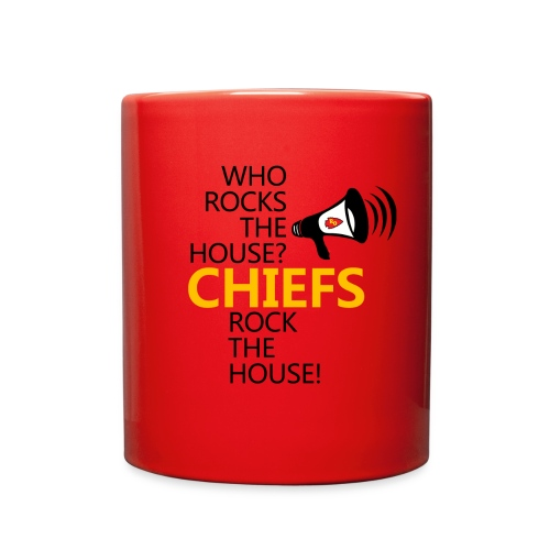 ROC Chiefs Rock The House Red Mug - Full Color Mug