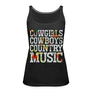 Country Music Lover - Women's Premium Tank Top