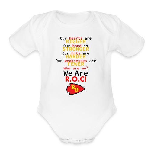 We Are ROC Baby Onsie - Organic Short Sleeve Baby Bodysuit