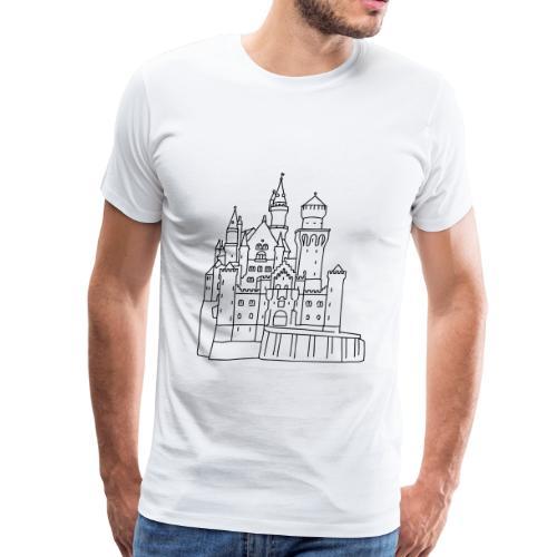 Neuschwanstein Castle - Men's Premium T-Shirt