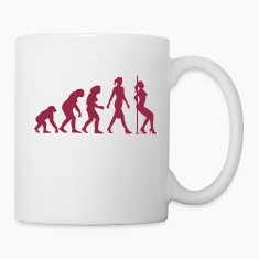 evolution_of_woman_striptease_052016_b_1 Mugs & Drinkware