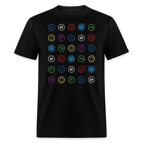 HeroClix Symbols T-Shirt - Men's T-Shirt