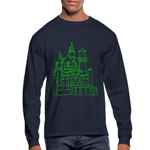 Neuschwanstein Castle - Men's Long Sleeve T-Shirt