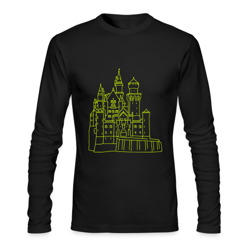 Neuschwanstein Castle - Men's Long Sleeve T-Shirt by Next Level