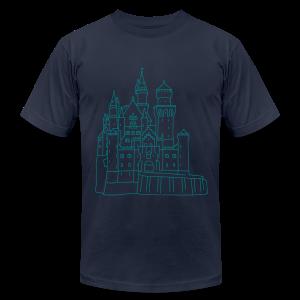 Neuschwanstein Castle - Men's Fine Jersey T-Shirt