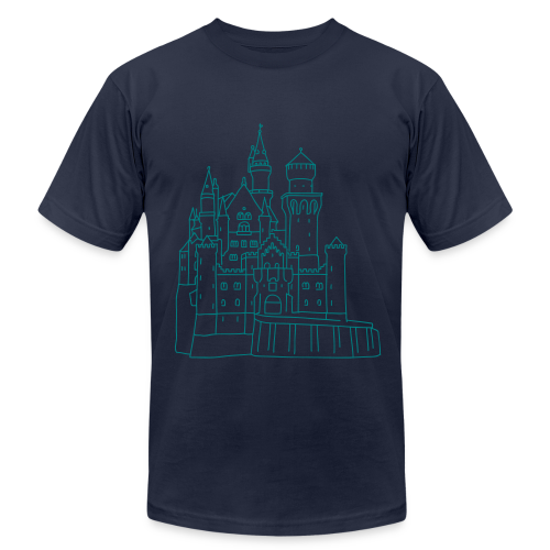 Neuschwanstein Castle - Men's  Jersey T-Shirt