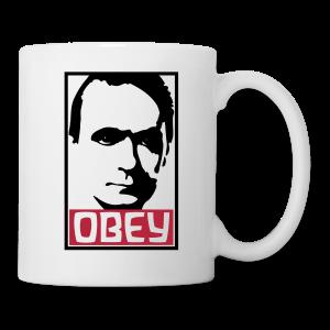 Obey Rudolf Steiner - Coffee/Tea Mug