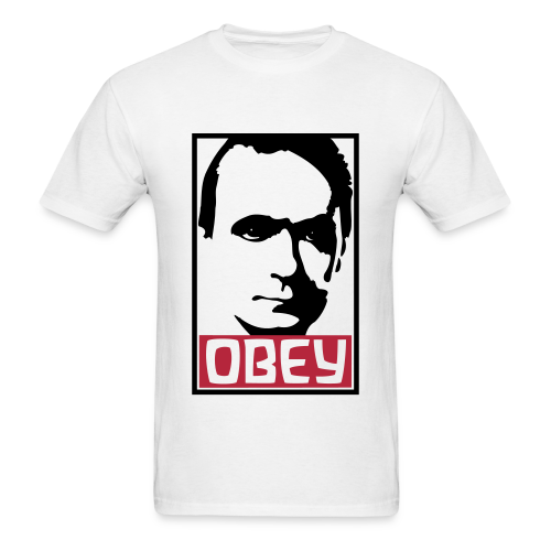 Obey Rudolf Steiner - Men's T-Shirt
