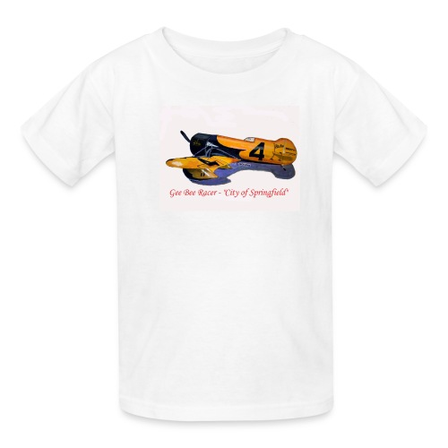 Gee Bee Racer City of Springfield - Kids' T-Shirt