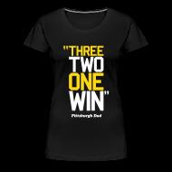 Women's T-Shirts ~ Women's Premium T-Shirt ~ 3-2-1 WIN Women's Variant