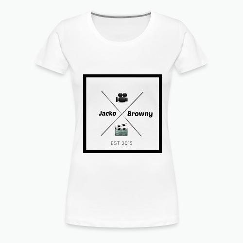 Womans Plain White Shirt - Women's Premium T-Shirt