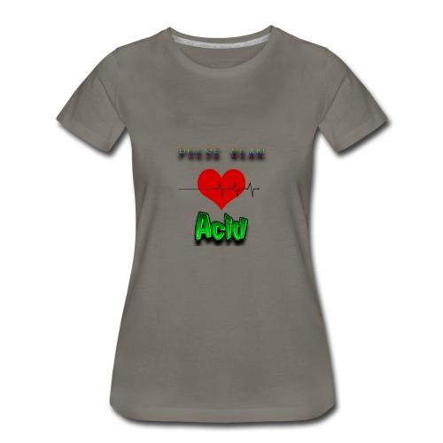 PuLsE Acid Women's Tee - Women's Premium T-Shirt