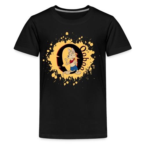 Ooboo - Paint - 01 - Kids' Premium T-Shirt