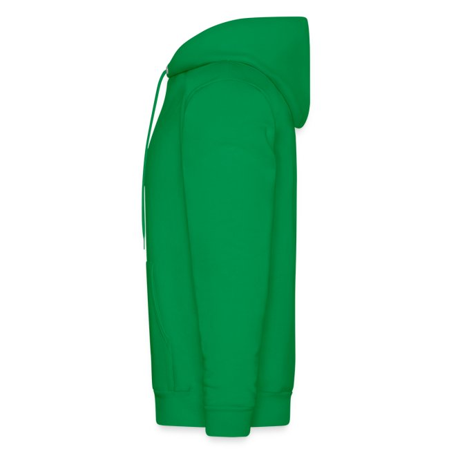Men's 2 sided South Side Hoodie black on green