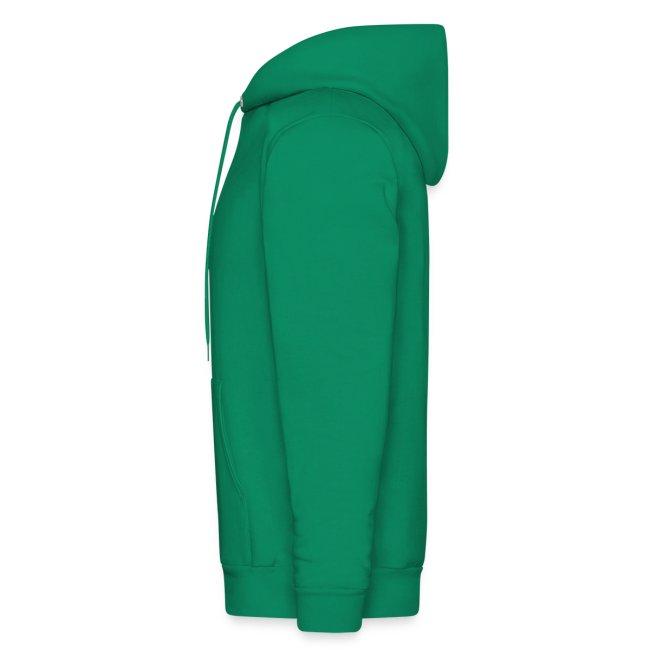 Men's 2 sided South Side Hoodie black on green