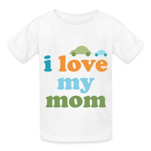 Retro Cars I Love My Mom - Kids' T-Shirt